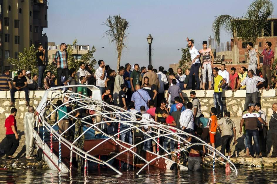 Se hunde un ferry en el Nilo