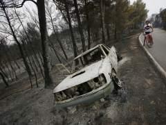Los Bomberos estabilizan el incendio de �dena