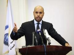 El hijo mayor de Gadafi, condenado a muerte por un tribunal libio