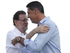 """Rajoy, """"orgulloso"""" de Albiol porque tiene """"las ideas muy claras"""""""