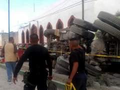 Un cami�n sin control atropella una peregrinaci�n en M�xico
