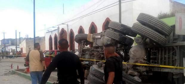 Un camión arrolla una peregrinación religiosa