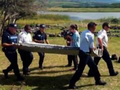 Hallan posibles restos del MH370