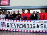 El Atl�tico de Madrid llega a Jap�n