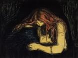 Edvard Munch, Vampire, 1895/1902-1914