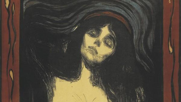 Edvard Munch, Madonna, 1895/after 1902