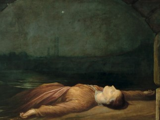G. F. Watts, Found Drowned, c.1848-1850