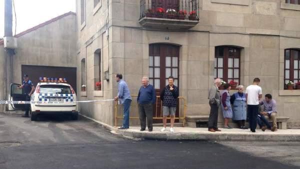 Suceso en Moraña, Pontevedra