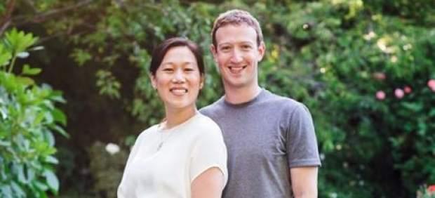 Mark Zuckerberg y su mujer