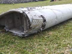 Restos que podrían ser del MH370