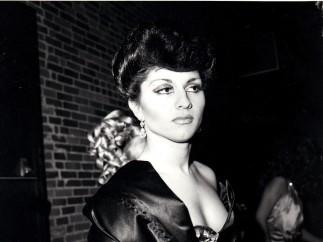 """Colette in Sophie Loren drag"", 1973"