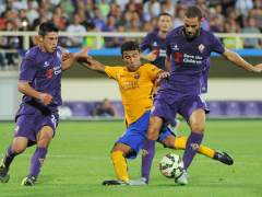 Un mal inicio condena al Bar�a ante la Fiorentina