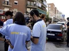 Madrid alojar� en viviendas de entidades bancarias a los vecinos desalojados de Carabanchel