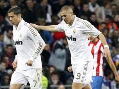 Cristiano Ronaldo y Karin Benzema