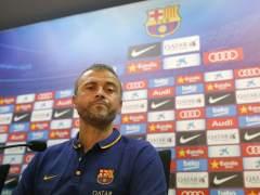 """Luis Enrique: """"Al equipo le dar�a un notable esta pretemporada"""""""