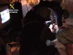 La Guardia Civil detiene a 4 personas en la operaci�n Quelonio.