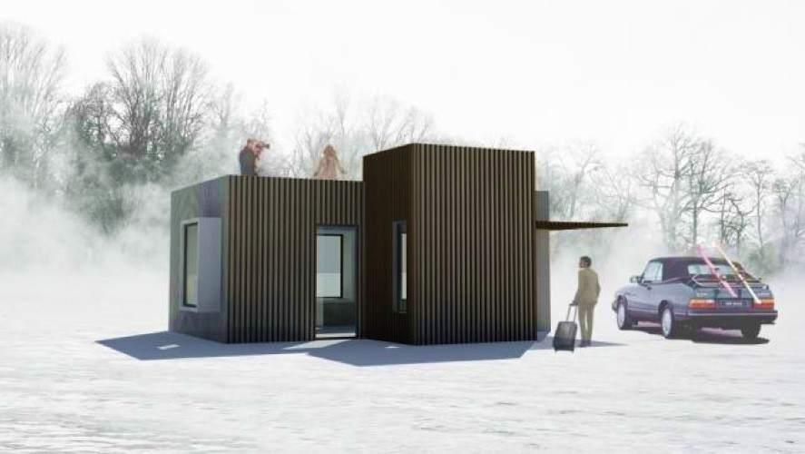 Por euros tienes tu propia casa modular de acero - Casas modulares acero ...