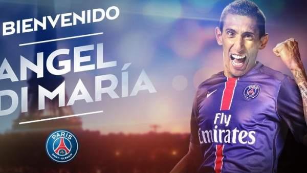 Ángel Di María con el PSG