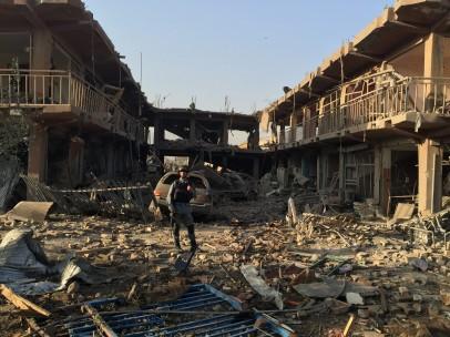 Atentado con camión bomba en Kabul