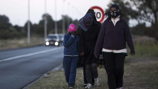Crisis migratoria en Calais