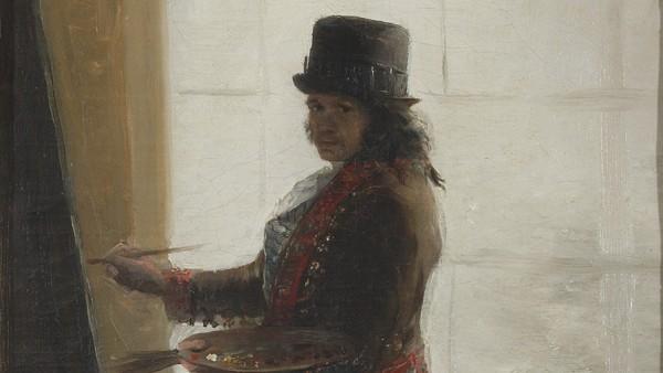 Francisco de Goya, Self Portrait before an Easel, 1792-5