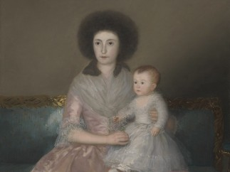 Francisco de Goya, The Countess of Altamira and Her Daughter, Mar�a Agustina, 1787-8