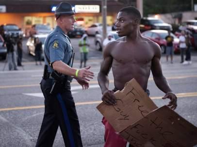Protestas Ferguson muerte Michael Brown