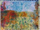 Matthew Brandt - Rainbow Lake, WY A4, negative 2012; print 2013