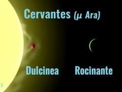 Propuesta para bautizar con el nombre de Cervantes a una estrella
