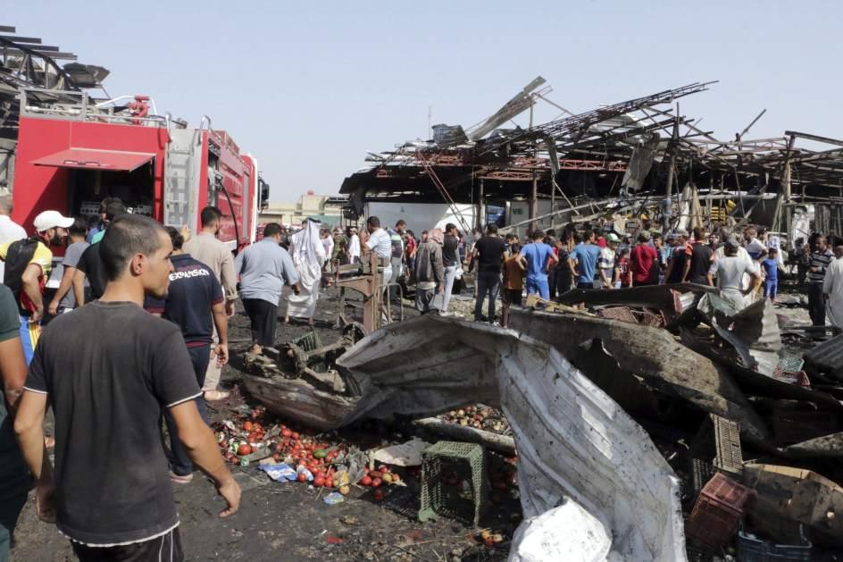 Tremendo atentado con camión bomba