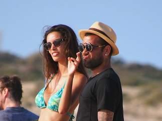 Dani Alves en Ibiza.