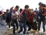 Inmigrantes en Grecia