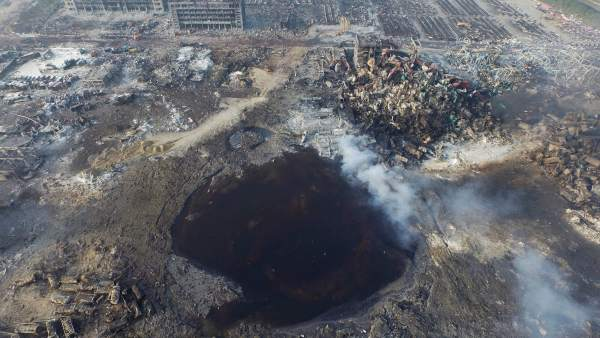 Explosión de Tianjin