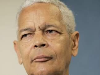 Fotografía del activista Chairman Julian Bond, defensor de los derechos de la comunidad afroamericana