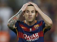Messi no tuvo su día
