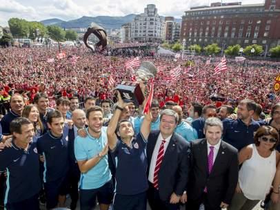 Celebración de la Supercopa en Bilbao