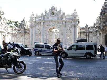 Ataque Palacio Dolmabhçe
