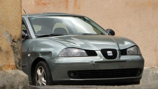 vehículo de Sergio Morate