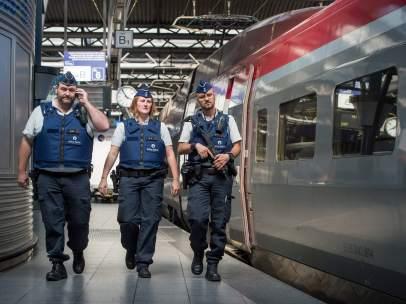 Ataque al tren franc�s