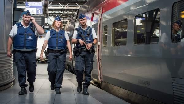 Ataque al tren francés