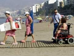 El 16% de las playas son accesibles para personas con discapacidad