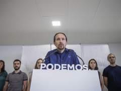 Iglesias concreta que Podemos podr�a confluir con IU en Madrid, Andaluc�a y Arag�n