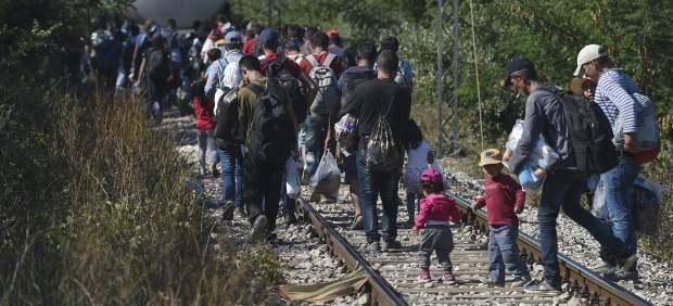 Inmigrantes Serbia-Macedonia