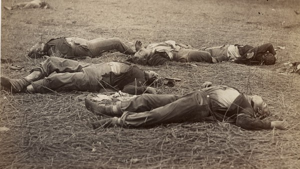 Field Where General Reynolds Fell, Gettysburg, July, 1863 by Alexander Gardner