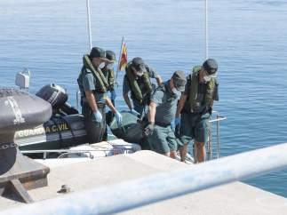 Hallan dos cadáveres en la costa de Granada.