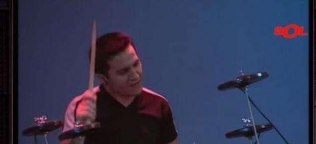 Javier, batería de Los Piratas