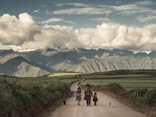Maras Road, Maras, Peru, April 2014