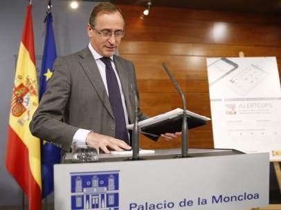 Alfonso Alonso en la Moncloa