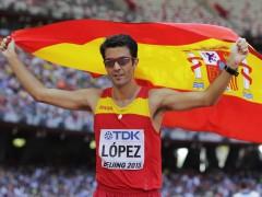 """Miguel �ngel L�pez: """"Espero que mi oro incentive a los que vienen por detr�s y que esto mejore"""""""