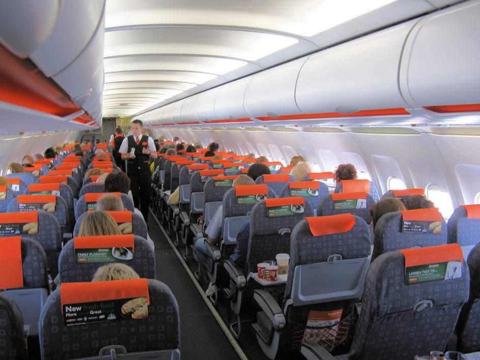 Seguridad a rea aclara que s se podr n facturar m viles y for Interieur avion easyjet